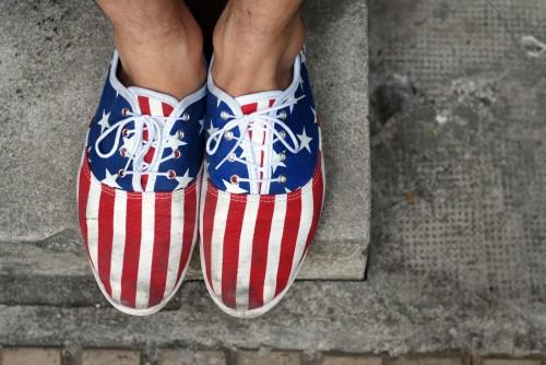 tennis-drapeaux-americains
