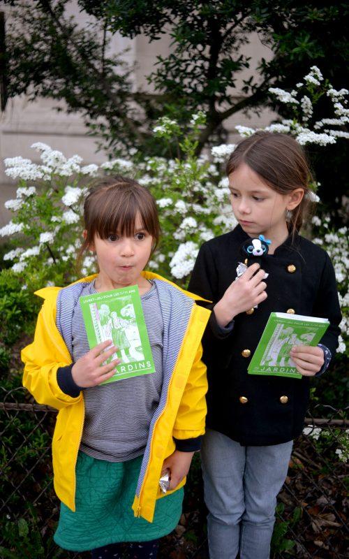 Les petites sorties: L'expo jardins au grand palais avec les ouvreuses