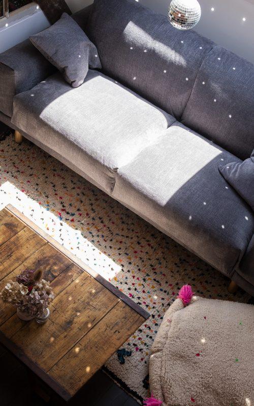 La jolie meulière, l'avant/après du bureau/ atelier/ chambre d'amis/salle télé