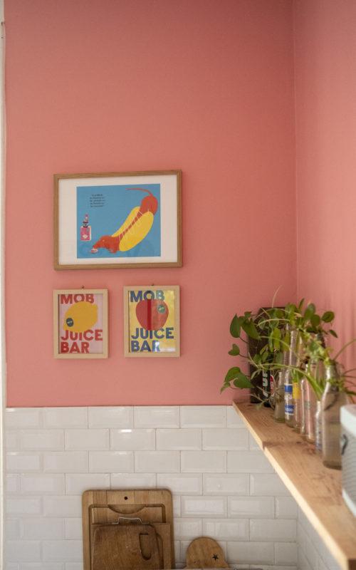 Peignons la cuisine en rose