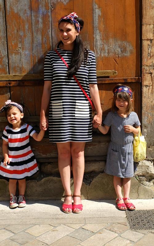Bonne fête les mamans: le look mère/fille pour blogokid
