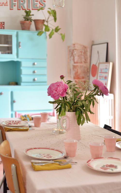 Une jolie table pour la fête des mères