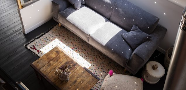 La jolie meulière, l\'avant/après du bureau/ atelier/ chambre ...